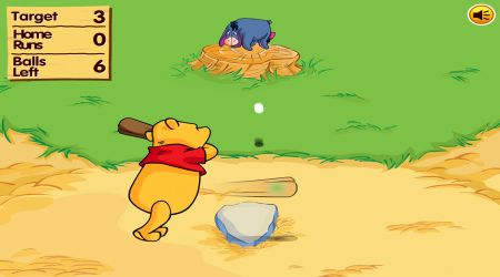 Screenshot - Winnie The Pooh Home Run Derby